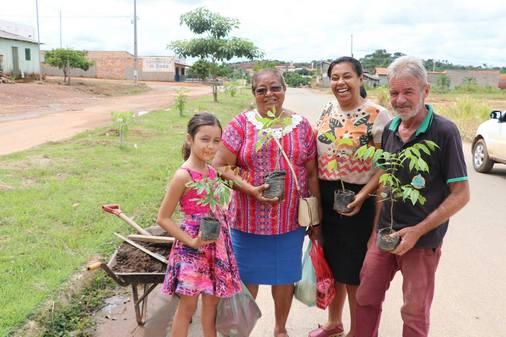 Água Azul/ Secretaria de Meio Ambiente com ações na zona urbana