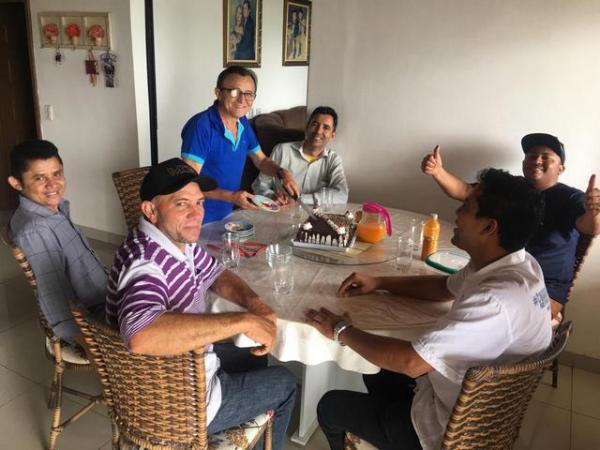 Ourilândia: Vereador e Dr. Arimatéia comemorando aniversário