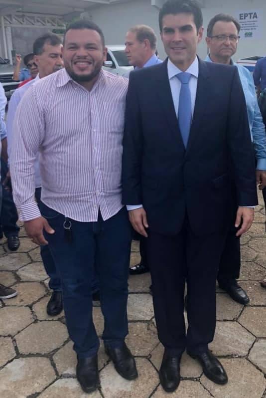 Helder Barbalho toma posse como governador do estado do Pará