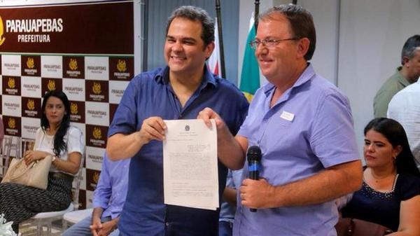 Prefeitura de Tucumã assina convênio com o Governo Federal.