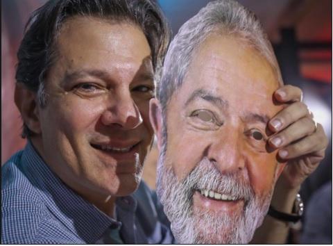 Ficar colado em Lula garantiu a Haddad lugar no 2º turno, se houver — acho que sim. Mas só terá chance com mais Brasil e menos Curitiba