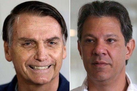 RealTime Big Data: Bolsonaro tem 59% e Haddad, 41% de votos válidos