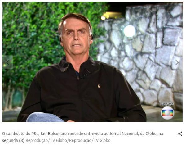 Bolsonaro diz que não precisa de impulsionamento no WhatsApp para bater Haddad