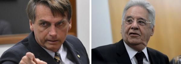 Declaração de filho de Bolsonaro cheira a fascismo, diz FHC