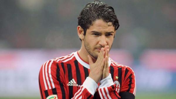 Getty Pato em ação pelo Milan em 2012