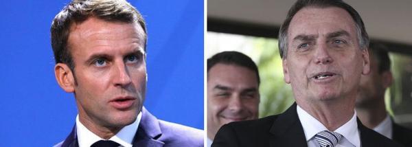 Macron isola Bolsonaro: Sem acordo ambiental, não tem acordo comercial