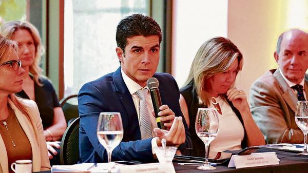 Em São Paulo, Helder Barbalho discute equilíbrio fiscal do Pará