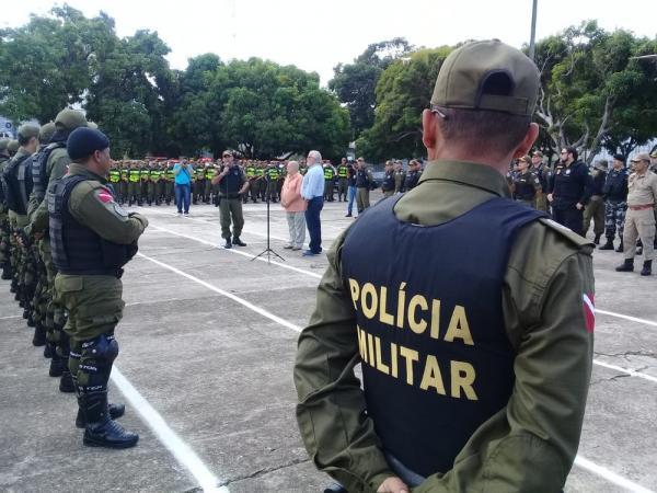 PM monta operação com 160 militares para posse de Helder Barbalho no PA