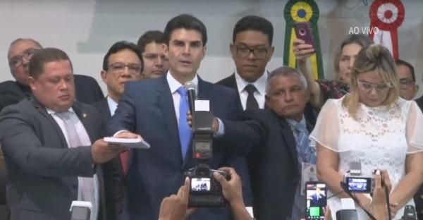 Helder Barbalho toma posse como governador do Pará