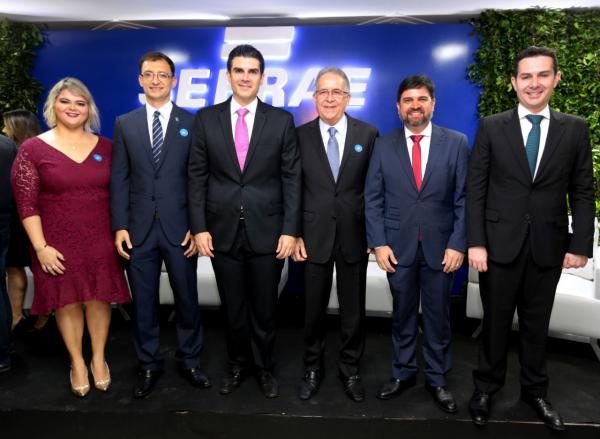 Helder Barbalho participa da posse de nova diretoria do Sebrae