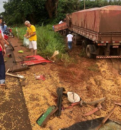 Caminhoneiro do Mato Grosso morre em trágico acidente na BR 163 no Pará
