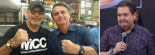 Bolsonaro retalia Globo com projeto de Alexandre Frota sobre publicidade
