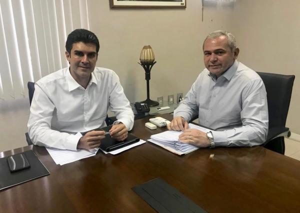 Em reunião com governador do Estado, presidente da Famep solicita agenda para tratar da Pauta Municipalista Paraense