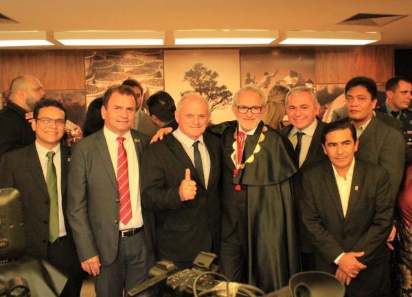 Presidente da Famep participa da posse dos novos dirigentes do TCM-PA