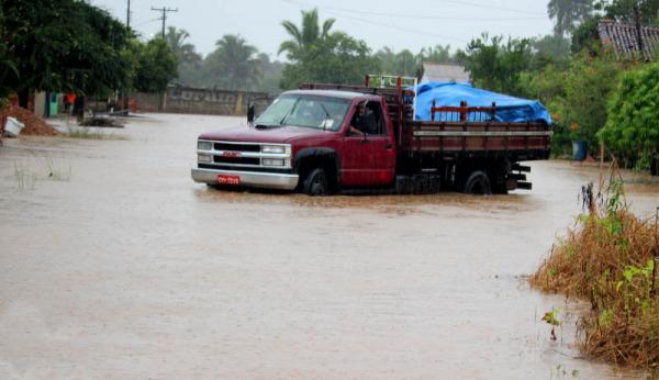 Inverno amazônico provocando enchentes em várias cidades do sul do Pará