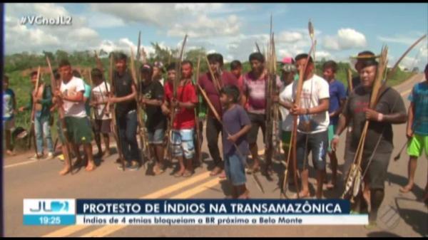 Indígenas protestam no PA para que demarcação de terras volte a ser atribuição da Funai