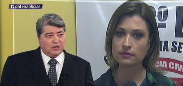 Repórter processa Datena por assédio sexual; apresentador diz que é 'delírio'