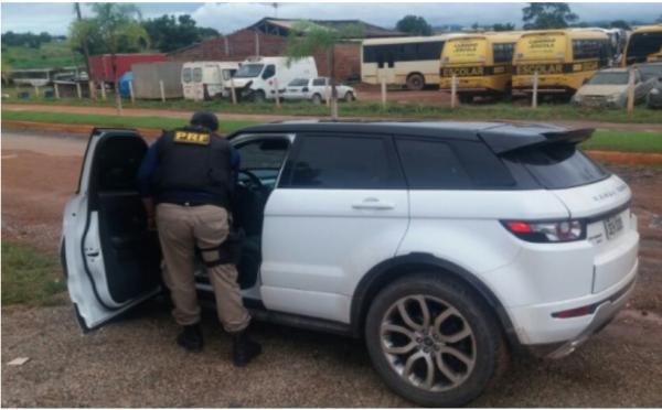 Veículo roubado no Rio de Janeiro é encontrado em Xinguara