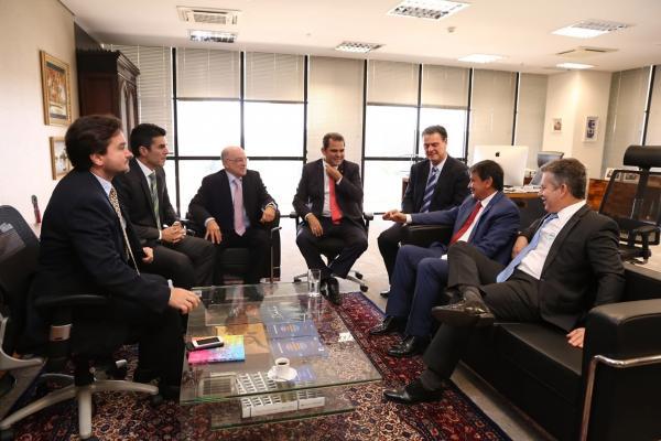 Governo discute Lei Kandir e infraestrutura de estradas em Brasília