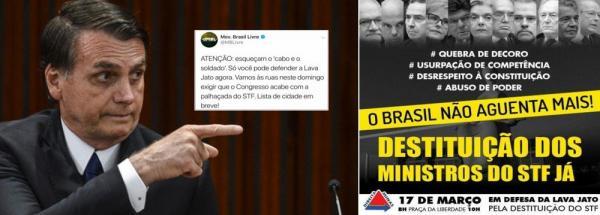Bolsonaro convoca guerra nas ruas contra o STF: Instituições sob ameaça