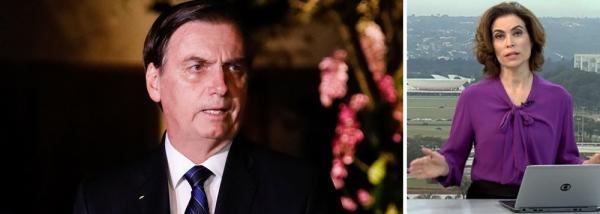 Globo e outros veículos de comunicação são barrados em coletiva de Bolsonaro