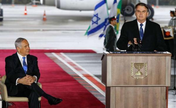 Recuo do Brasil sobre transferência de embaixada frustra Netanyahu