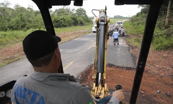 Setran realiza serviços em 15 rodovias no sul e sudeste do Pará