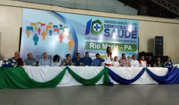 Rio Maria: 10ª Conferência Municipal de Saúde é realizada com sucesso