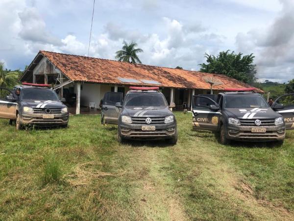 São Félix: Polícia prende pistoleiros contratados para impedir invasões em fazenda de suspeito de tráfico no Pará