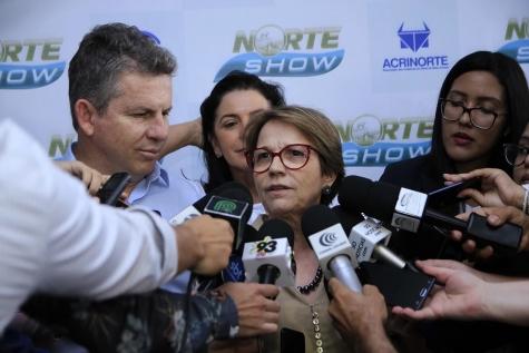 ''Temos que criar uma nova classe média rural'', diz ministra Tereza Cristina em Sinop