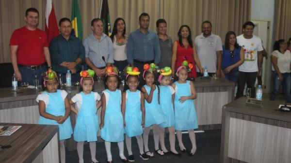 Prefeitura de Tucumã inicia na Câmara Municipal V edição da Semana do Bebê Prefeito