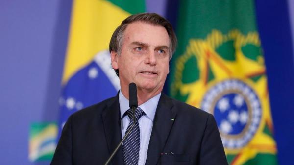 Presidente Jair Bolsonaro durante celebração de Páscoa no Palácio do Planalto Imagem: Alan Santos/PR