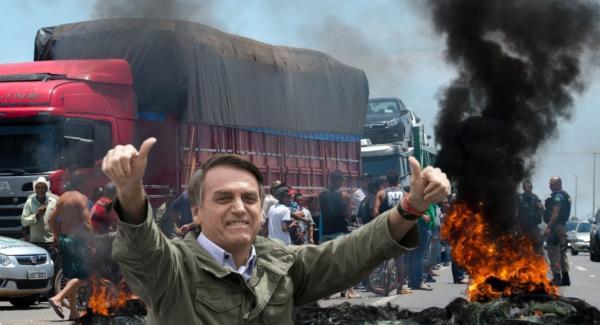 Governo ainda luta contra greve de caminhoneiros