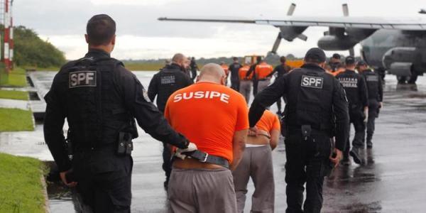 Operação transfere presos de alta periculosidade para presídios federais