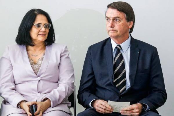 A ministra Damares Alves disse ao presidente Jair Bolsonaro que quer deixar o governo (Dida Sampaio/Estadão Conteúdo)