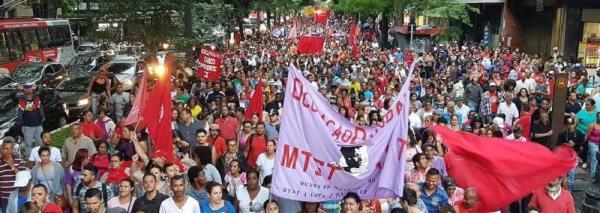MTST Mobiliza 15 mil pessoas contra destruição da moradia
