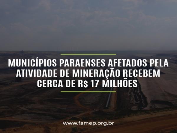 Conquista: Municípios Paraenses afetados pela atividade de mineração recebem cerca de 17 milhões