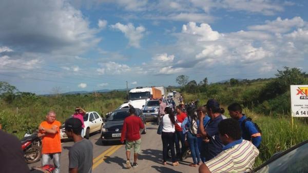 Ourilândia: Protesto encerra após 12 quilômetros de engarrafamento