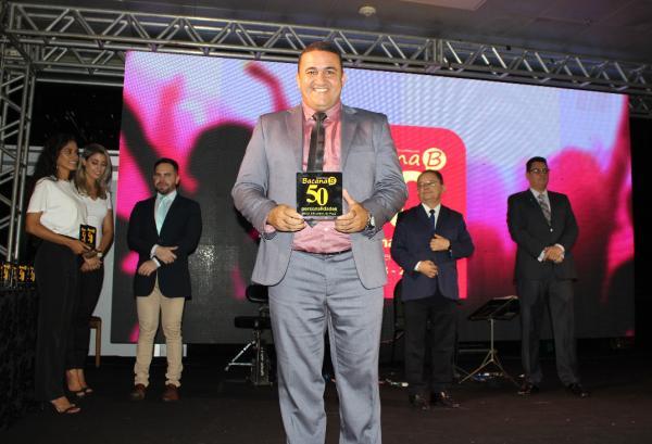 Canaã dos Carajás: Jean Carlos Ribeiro é homenageado como uma das 50 Personalidades mais Influentes do Estado do Pará