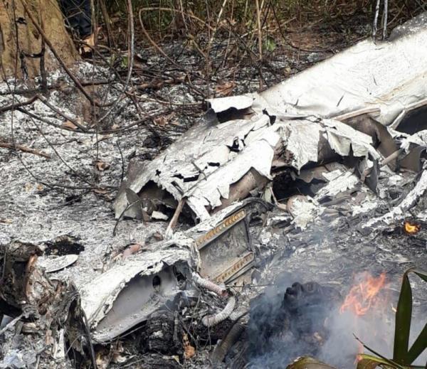 Pane no motor causou acidente aéreo