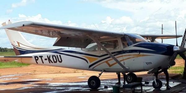 FAB faz buscas por avião que desapareceu depois de decolar em Itaituba