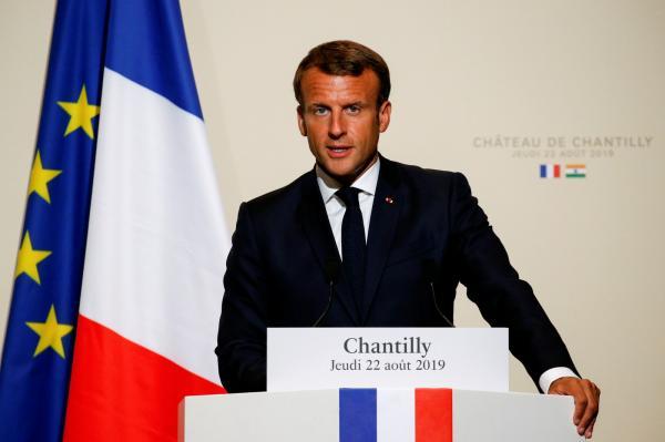 Macron diz que G7 precisa discutir incêndios na Amazônia: 'Crise internacional'