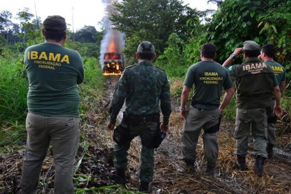 MPF quer saber do Ibama como será feita retirada de equipamentos apreendidos em fiscalizações no PA