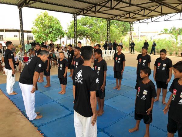 RIO MARIA: Projeto do MPPA usa o jiu-jitsu para combater a evasão escolar