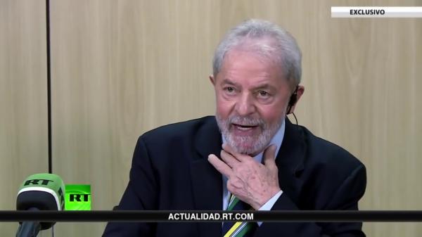 Lula a canal russo: 'Eu gostaria de fazer uma delação contra Moro e Dallagnol na ONU'