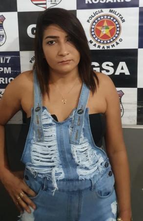 Luana de Cássia Castro Silva foi presa no domingo (13) no povoado Itamirim por envolvimento na morte da missionária norte americana Dorothy Stang — Foto: Divulgação/ Polícia