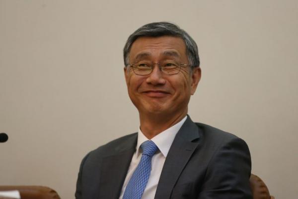 Ex-embaixador da Coreia do Sul no Brasil, Jeong-Gwan Lee - Fábio Pozzebom / Agência Brasil