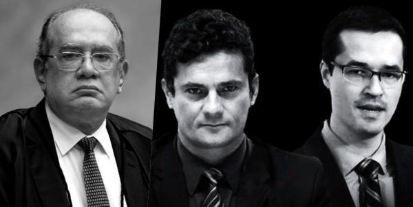 Gilmar Mendes deve colocar suspeição de Sérgio Moro na pauta em resposta a robôs nas redes