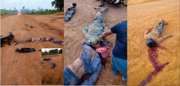 Três homem encapuzados foram atropelados e morto numa tentativa de assalto na Transamazônica entre Uruará e Placas