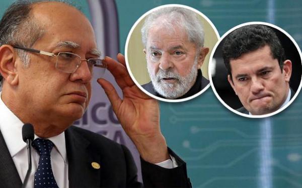 Gilmar sobre Moro: determinou a prisão do principal candidato à presidência e depois aceitou o cargo de seu adversário